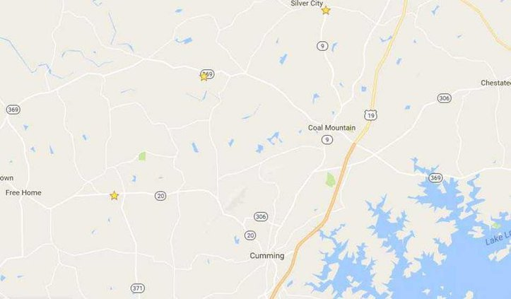 fire station burglaries map