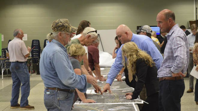 Hwy. 20 open house