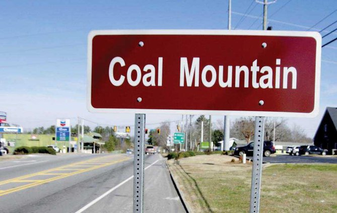 1PRINT Coal Mountain Sign WEB