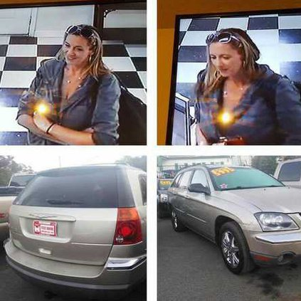 Authorities seek woman who took car for test drive and never came back