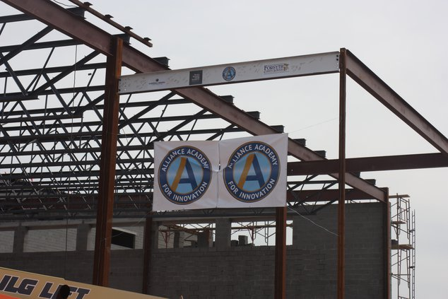 Alliance Academy construction