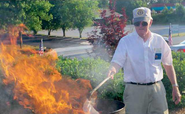 Flag burning 1 WEB
