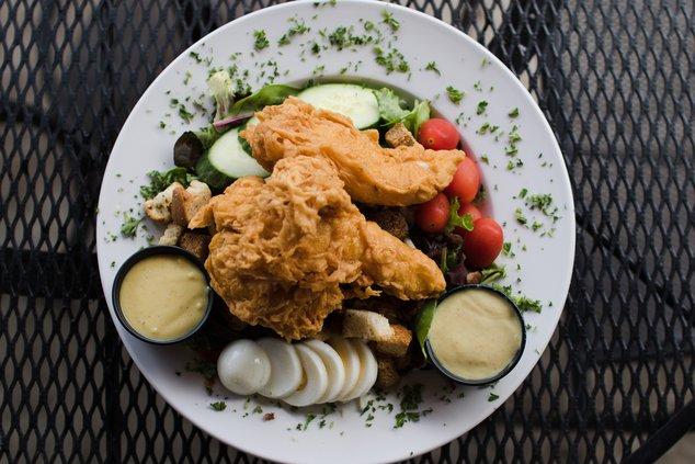 Rick Tanner's salad