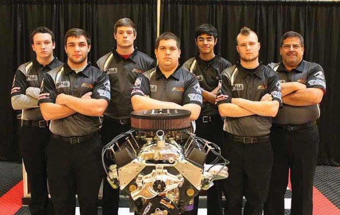 Forsyth Central Bulldogs Engine Builders web