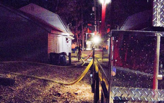 3WEB house fire tanker