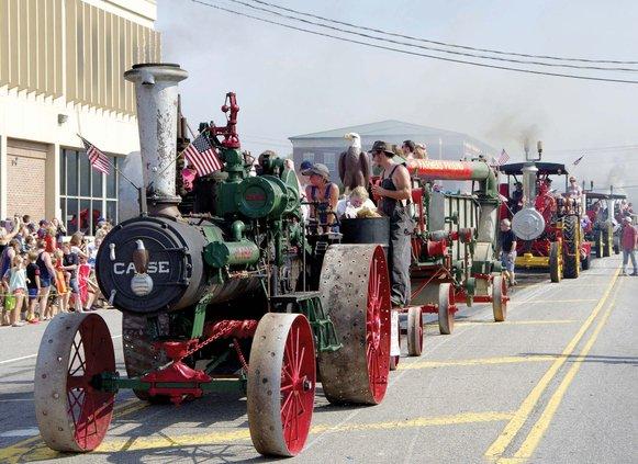 Steam Engine Parade