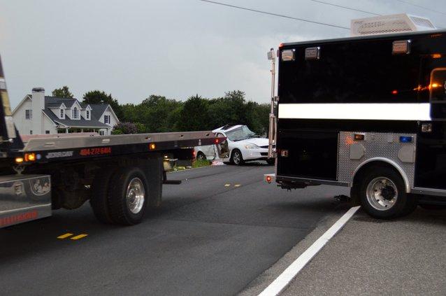 Spot Road crash