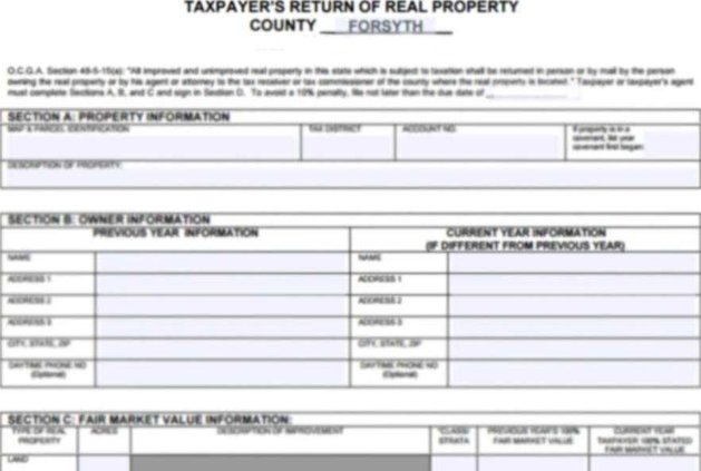 Property Tax Form Blurred 950x600