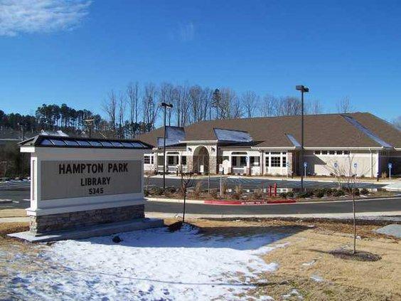 Hampton Park library
