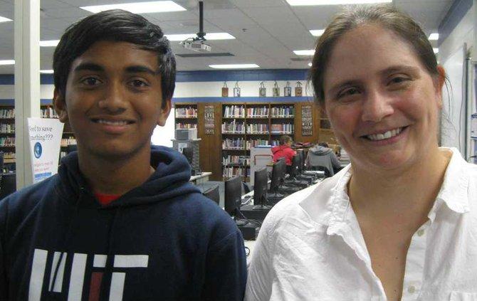 Harish Kamath and Carol Sikes SFHS