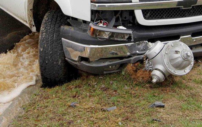 1WEB truck on hydrant