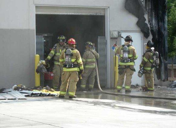 Paint store fire WEB