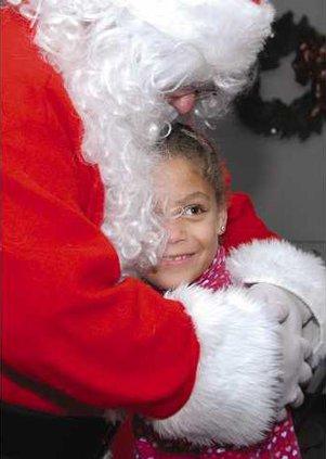 Santa hug GOOD