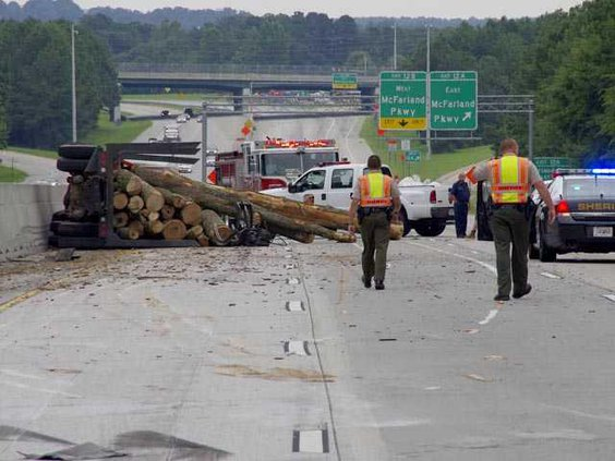 WEB 640 log truck