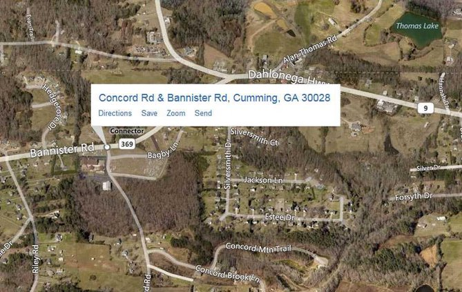 concord at bannister map