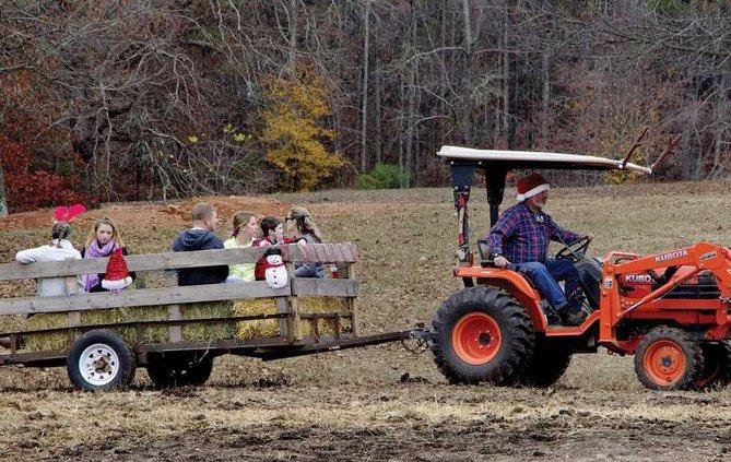 2WEB tractor hayride