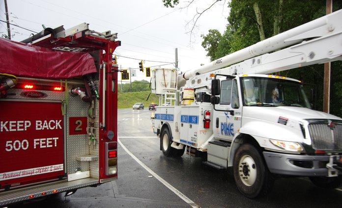 Power Company Truck