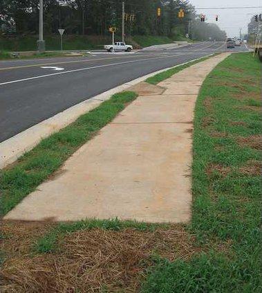 post road sidewalk for FR FR 5-28-09