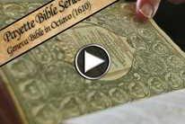 Payette Bible Series: Geneva Bible in Octavo (1610)