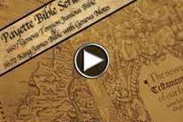 Payette Bible Series: Geneva Tomson Junious Bible (1607) and King James Bible w/ Geneva Notes (1672)
