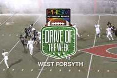 Prism Automotive Drive of the Week 8: West Forsyth's Opening Drive