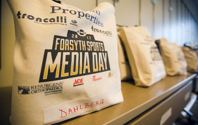 Forsyth County Media Day Swag Bag