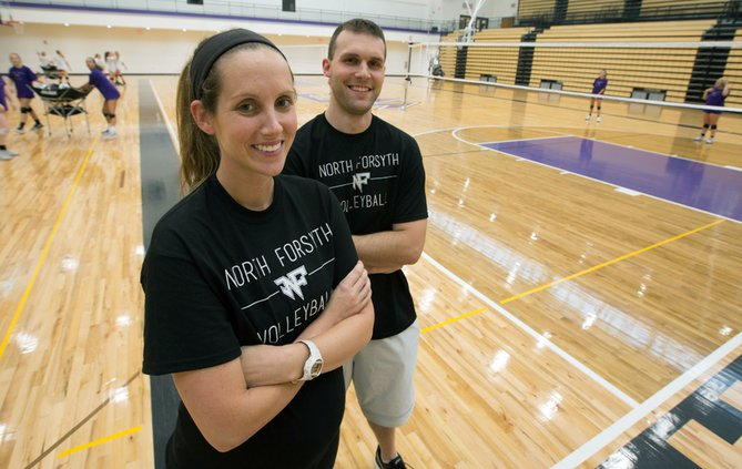 North Forsyth's Kelly and Drew Cecil