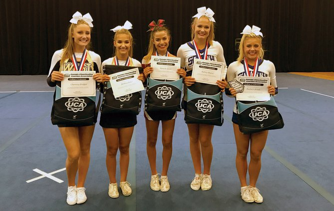 GCCA All-State Cheerleaders