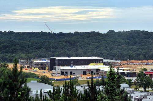 Lanier Tech new campus construction