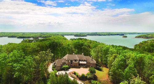 Lake Lanier mansion