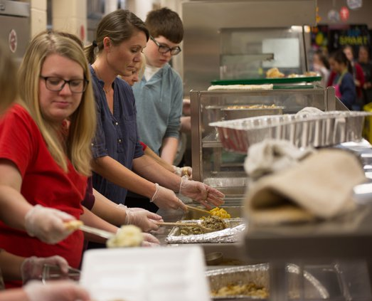 Thanksgiving volunteer