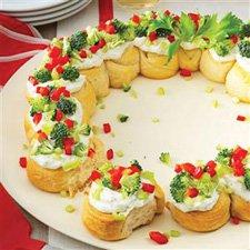 Food wreath