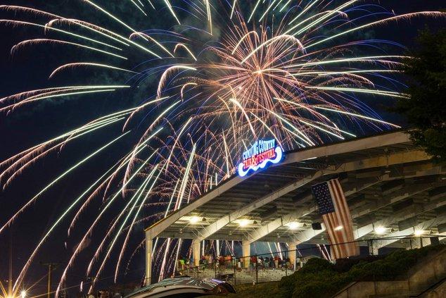 Fairgrounds arena