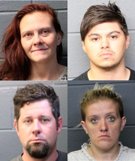 Drug Task Force Meth Bust