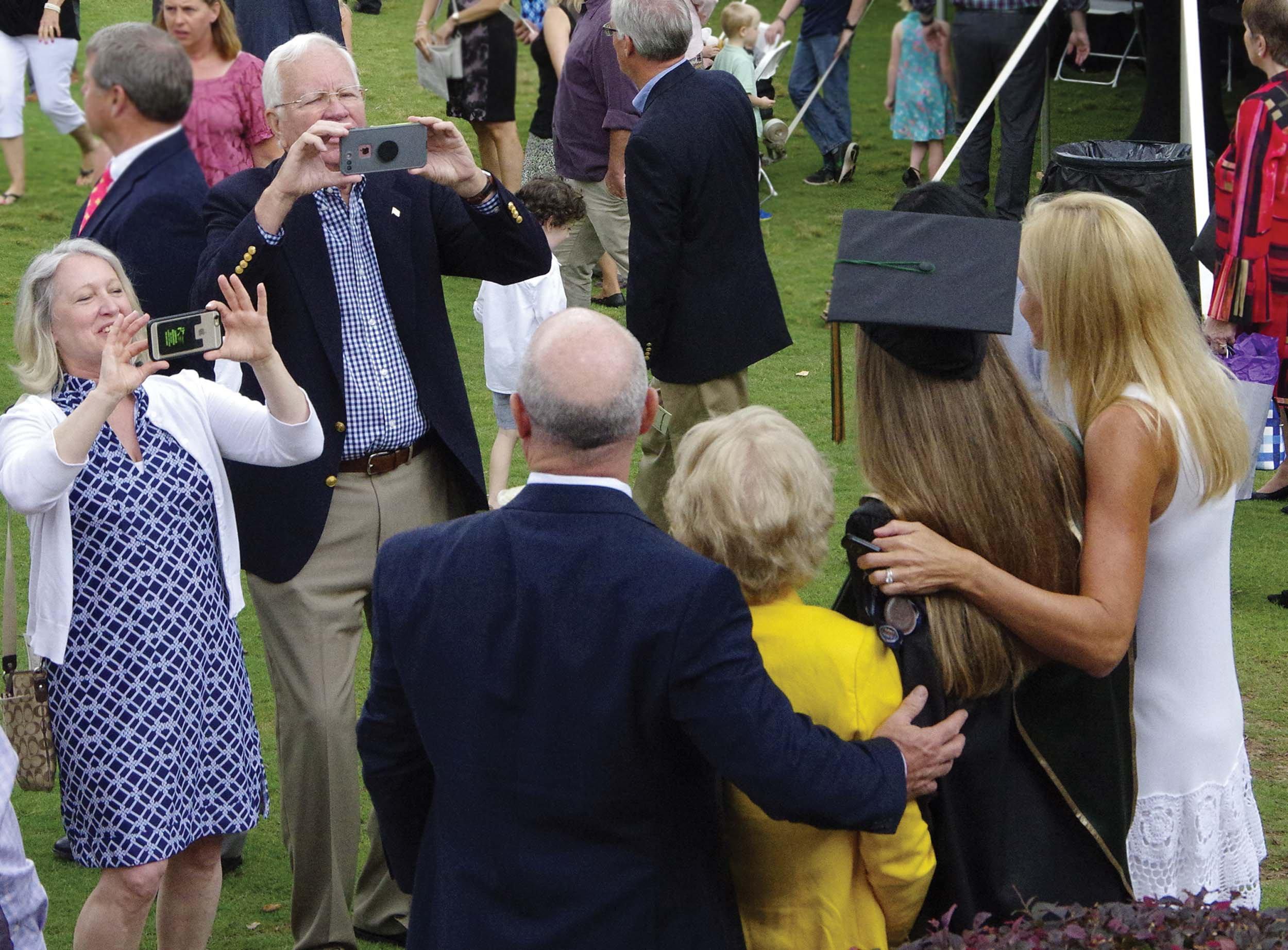 After graduation photos