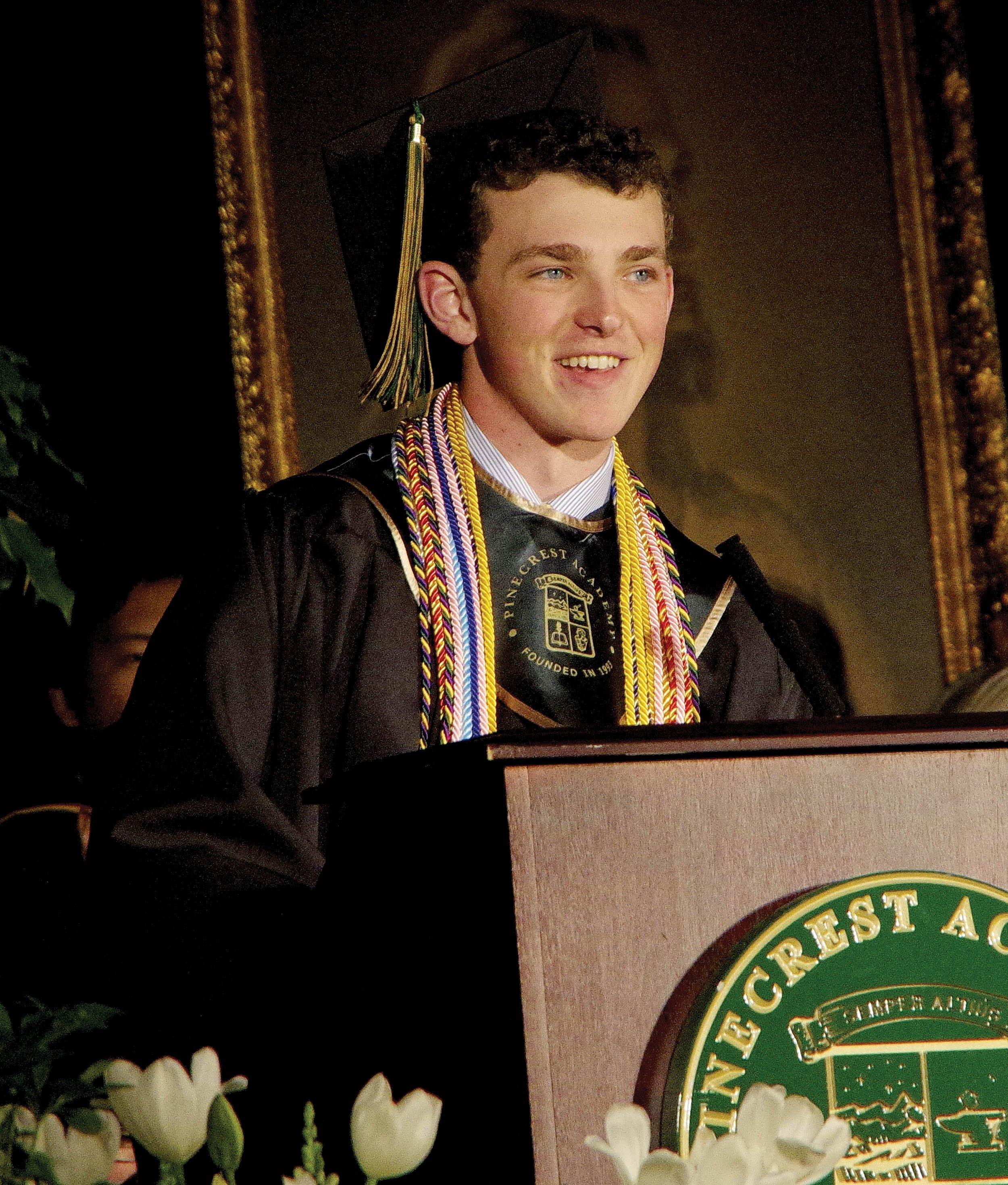 Boys valedictorian