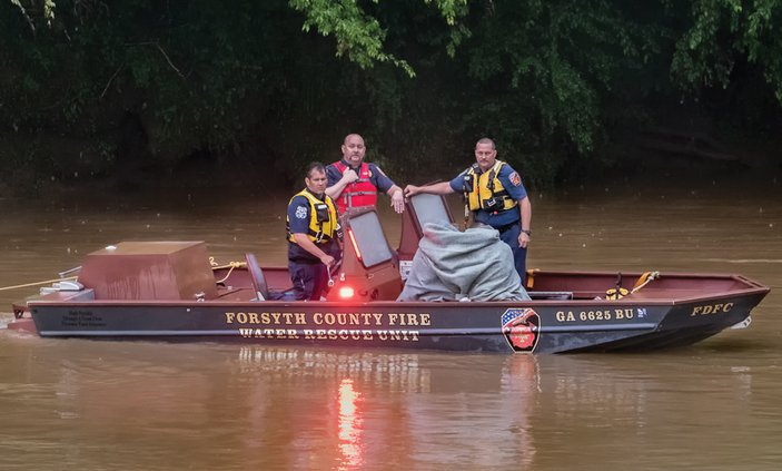 Swift Water Rescue Team