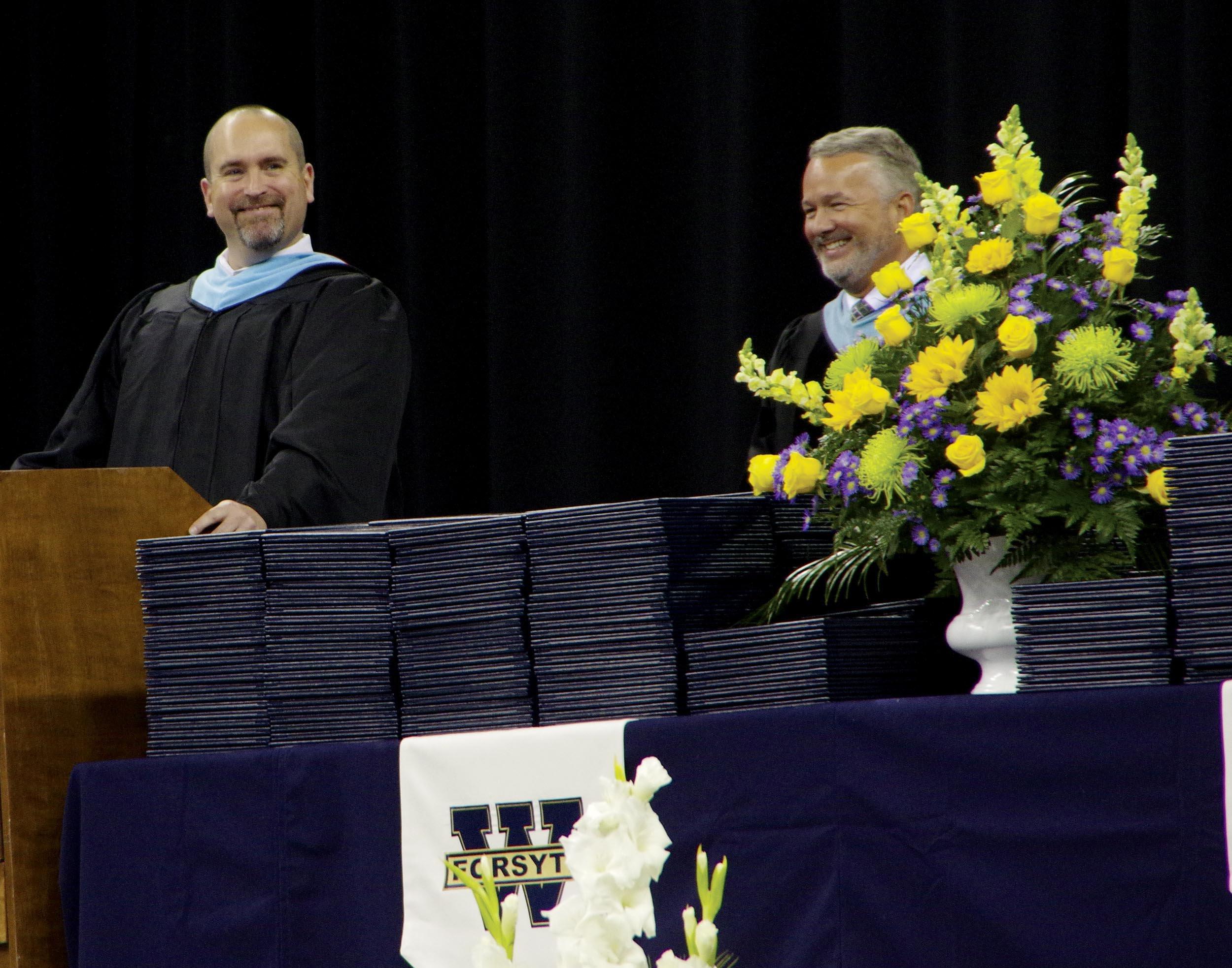 Principal and Dr Bearden