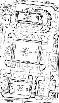 Norman's Property site plan close up