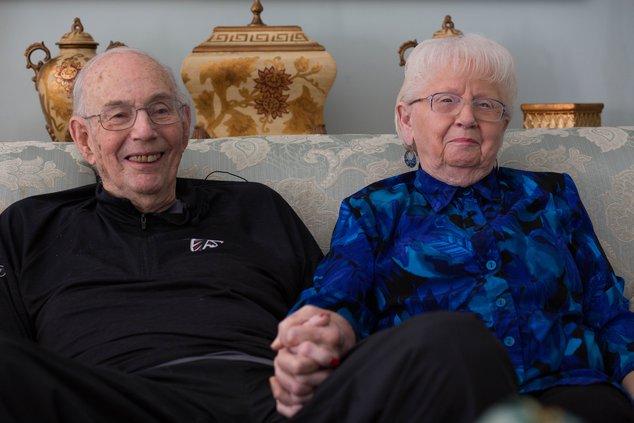 John and Shirley Walters
