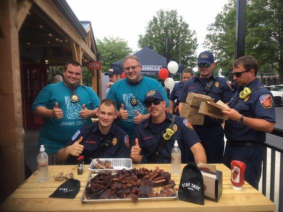 Firefighters V deputies