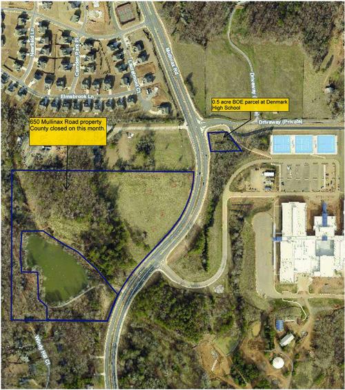 Mullinax Road Map