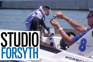 Studio Forsyth:  Dr. Irving, the capuchin monkey you love to see on the lake