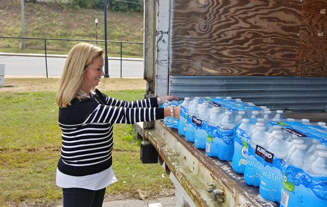 FCN Water Donations Hurricane Michael 102418