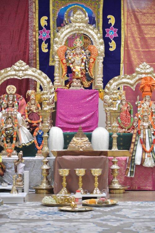 FCN Diwali Shiva Durga Temple 110418