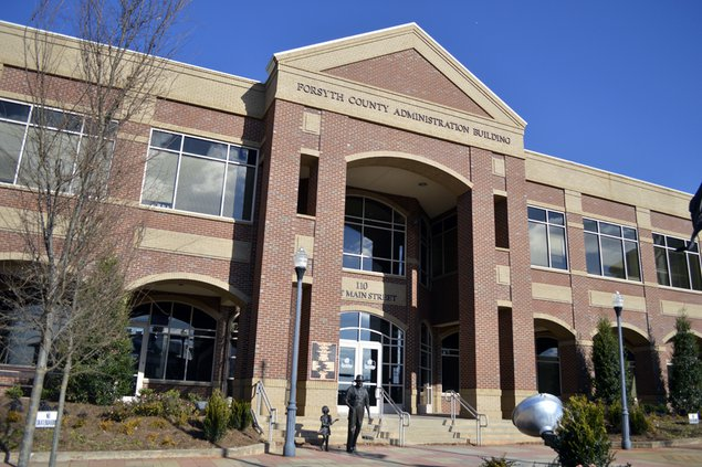 FCN Forsyth County Administration Building