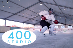 400 Studio:  The Cumming Fairgrounds transformed into a Winter Wonderland