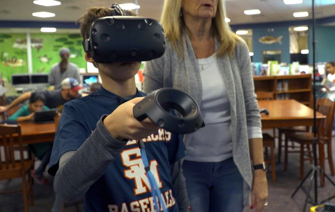FCN Whitlow Elementary School Virtual Reality 2 122118