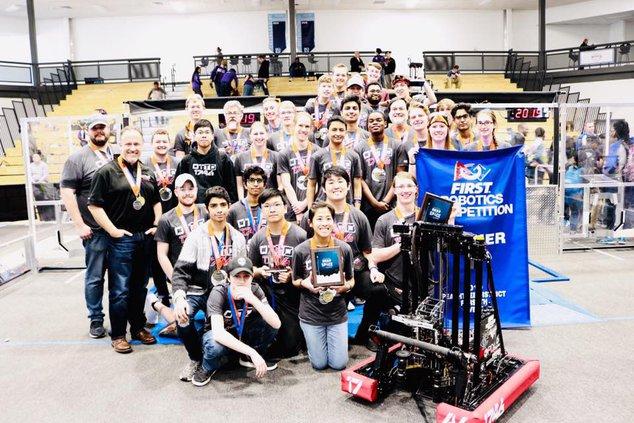 Forsyth Central High School FIRST Robotics team 040319 web