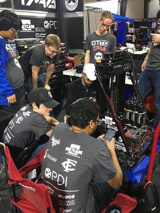 Forsyth Central High School Robotics team